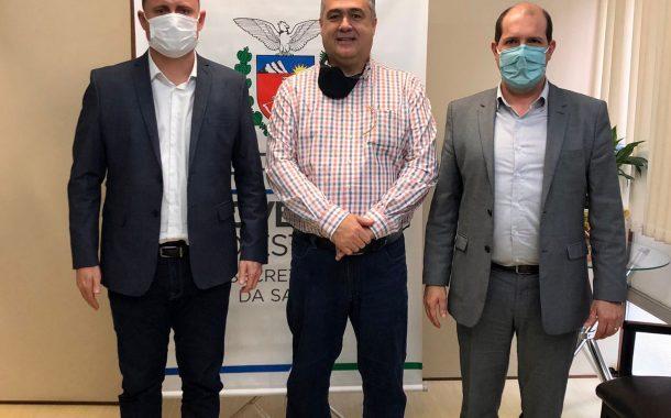 Reunião em Curitiba confirma convênio do Governo do Estado com Hospital Beneficente em Santa Helena