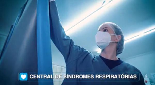 #VÍDEO: SANTA HELENA TEM A CENTRAL DE SÍNDROMES RESPIRATÓRIAS