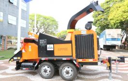 Município conta com novo triturador de galhos fruto de convênio com a Itaipu Binacional