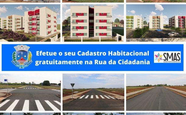 Cadastro Habitacional terá continuidade até o final do ano