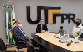 Prefeito Zado se reúne com Reitor da UTFPR para consolidar campus em Santa Helena