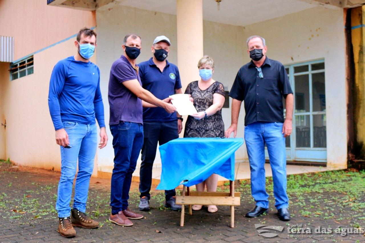 Assinada Ordem de Serviços para reforma do Centro Social do Bairro Curitibano