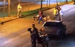 Vítima de grave acidente de trânsito em Marechal Rondon é transferida para Toledo
