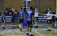 Santa Helena vence Toledo no Paranaense de Voleibol Masculino