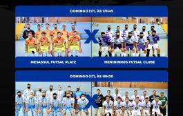 Semifinal da Série Prata do Campeonato Municipal de Futsal é neste domingo